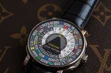 Louis Vuitton's Escale Worldtime Watch Embodies Famous World Cities