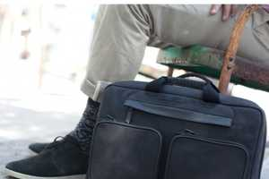 The Convertible Laptop Bag from HEX Creates Three Carrying Styles in One