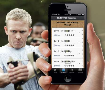 Military-Inspired Exercise Apps - The TRX FORCE is a Workout App That Will Push You Past Your Limit