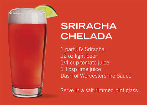 Spicy Vodka Drinks - The Sriracha Chelada is a Perfect Patio Puncher