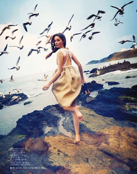 Childhood Fairy Tale Editorials - Spur Magazine's May Edition Takes You Off to Neverland