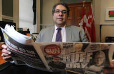 Canadian Mayoral Pranks - Calgary's Mayor Pranked Newspaper Readers in This 2014 April Fool's Gag