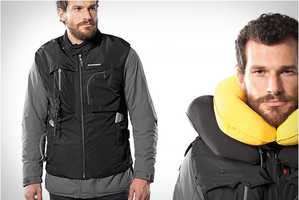 Motorcycle Safety and Style is Combined in the Inflatable Airbag Vest