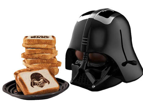 Villainous Pop Culture Toasters - This Darth Vader Toaster Shows the Dark Side of Your Toast