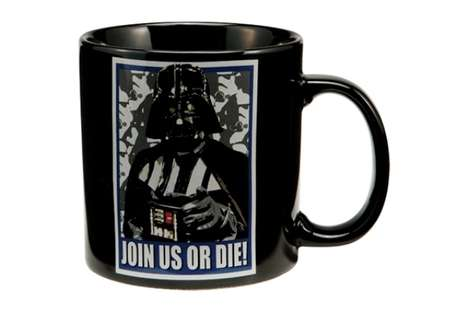 10 Darth Vader Kitchen Products - From Sci-Fi Mug Mats to Villianous Coffee Cups