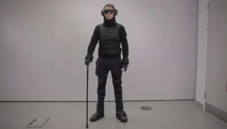 Old Age Simulation Suits - This Suit is Designed to Simulate Physical Limitations That Come with Age