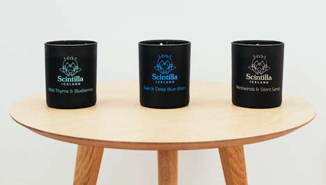 Countryside-Inspired Candles - This Natural Candle Collection is Centered on Organic Ingredients