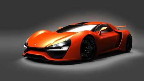 Speed Record-Targeting Supercars - The Trion Nemesis Aims to Break the Sports Car Land Speed Record