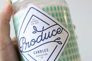 The Produce Candles are Based on Popular Ingredients