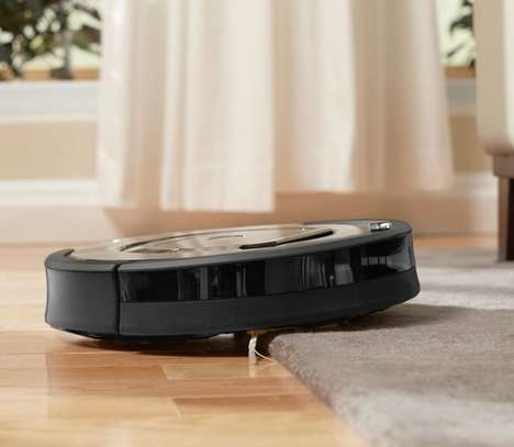 Dirt-Detecting Robotic Vacuums - iRobot