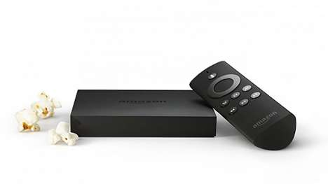 Versatile Multimedia Streaming Devices - Amazon Fire TV Can Access Amazon Prime, Netflix and more