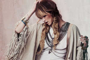 The Free People Lookbook 'Sand Dancer' is Festival-Inspired