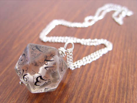 Geeky Role Play Pendants - This D20 Pendant will Bring You Luck During Your D & D Sessions