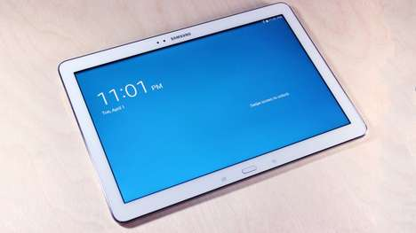 Oversized Multimedia Tablets - The Samsung Galaxy Note Pro Has a Huge 12.2-Inch Display