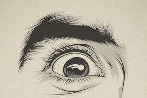 These Illustrations Show How Eyes Alone Can Portray Emotions