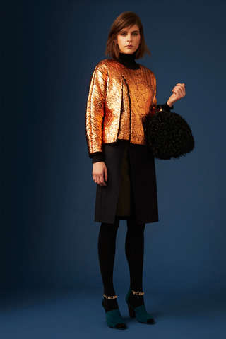 German Rave-Inspired Getups - The Phillip Lim Pre-Fall 2014 Collection is Raw and Tailored