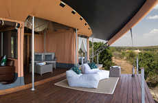 Luxuriously Wild Safari Camps - Richard Branson Opens Up a Kenyan Retreat for the Rich and Famous