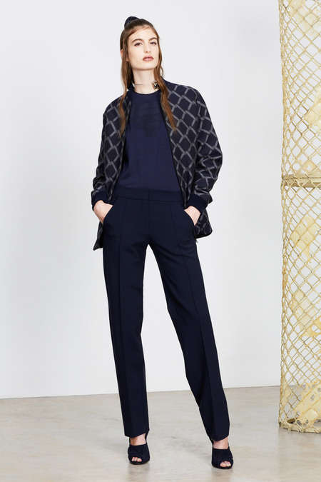 Inconspicuous Scandalous Collections - Alexander Lewis Pre-Fall 2014 Creates Scandalous Slits