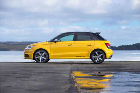 Road-Worthy Rally Cars - The AUDI S1 Has Received a Makeover Since its Old-School Days