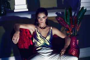 Hilary Rhoda Stars in the Marie Claire Mexico April 2014 Issue