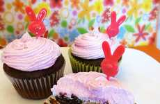 Creamy Rabbit Egg Cupcakes