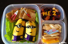 Cartoonish Packed Meals