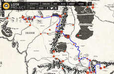 This Interactive Middle Earth Map Lets You Explore any Route
