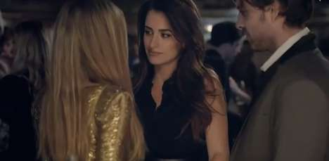 Suggestive Soda Campaigns - Penelope Cruz Stars in This Sizzling Pub Schweppes 2014 Commercial