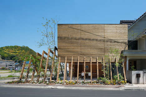Timber-Covered Community Centers - UID Architects Have Designed the COCOCHI Building