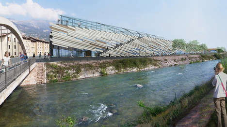 Sustainable Innovation Factories - Kengo Kuma Creates an Asymmetrical Design for This Building