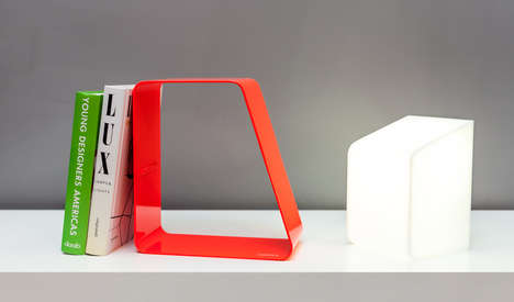 Wireless Bed-Side Lamps - The Ludovica Reading Lamp is Functional and Funky
