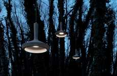 Suspended Concrete Lighting