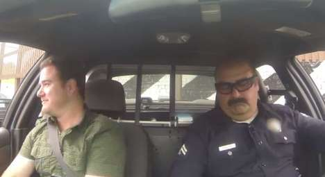 Positive Police Pranks - This Cop Pulls Over Drivers Before Giving Them $100 in This Feel-Good Prank