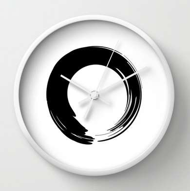 Zen-Inducing Wall Clocks - This Wall Clock May Become a Source of Meditation