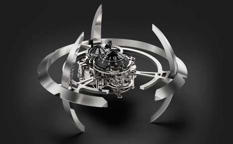 Futuristic Galactic Clocks - The