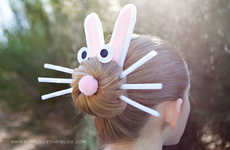 DIY Easter Bunny Hairdos