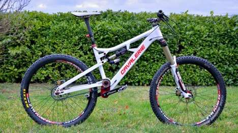 Rattle-Free Mountain Bicycles - The Cavalerie Bikes Feature a Belt Drive Instead of Regular Chains