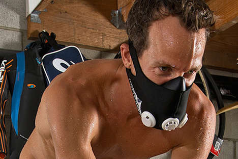 Villainous Exercising Tools - The Training Mask Lets People Channel Their Inner Bane During Workouts