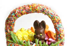 Cereal-Made Candy Carriers - Food Blogger Erin Phraner Creates the Ultimate Edible Easter Basket