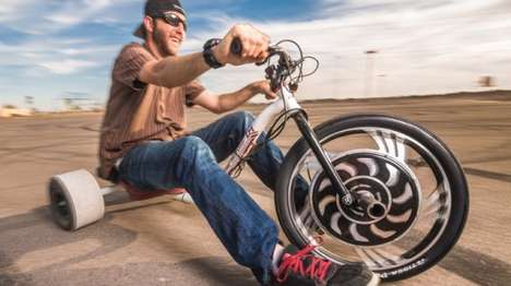 Adrenaline Junkie Electric Trikes - The Verrado Trike is Built to Allow for Drifting and Sliding