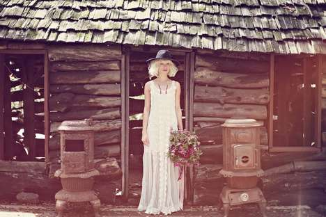 Bohemian Bridal Lookbooks - The Free People