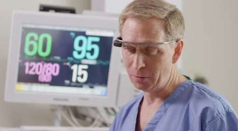 Data-Distributing Glasses Apps - The Beam App is a Google Glass App That Lets Doctors Share Info