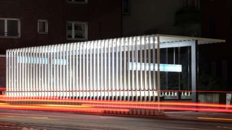 Waterfall-Like Escalator Shelters - These Shelters Protect Escalators from Weather and Vandalism