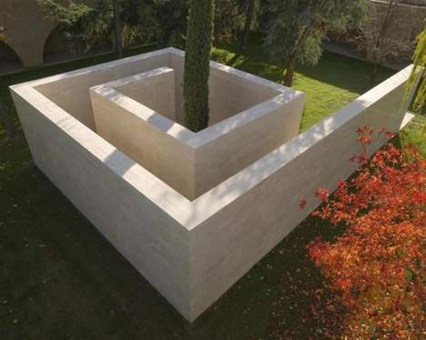 12 Amazing Maze-Like Structures - From Stone Maze Memorials to Cardboard Maze Exhibits