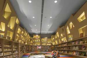 This Rainbow Library Brings Fun Back to Reading