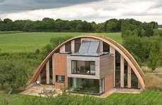 40 Energy-Efficient Structures - From Recyclable Abodes to Modern Geometric Homes