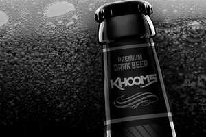 Khooms is a New Kind of Premium Beer Packaged by Israel Viveros