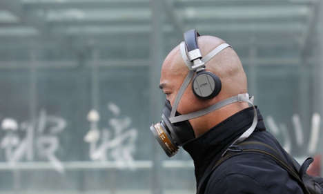Temporary Smog Relief Purifiers - The Chinese Smog Epidemic is Being Fought with Bags of Clean Air