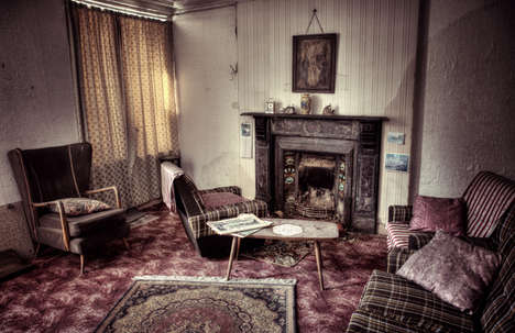 Surreal Abandoned Home Photography - This Abandoned Home Photo Series is Haunting and Sad