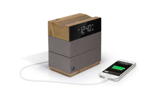 Phone Charging Alarm Clocks - This Alarm Clock Radio is Perfect for Waking Up and Falling Asleep